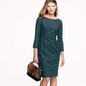 J.Crew Charcoal Clea Wool Dress Size 2